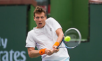 TOMAS BERDYCH (CZE)<br /> <br /> Tennis - BNP PARIBAS OPEN 2015 - Indian Wells - ATP 1000 - WTA Premier -  Indian Wells Tennis Garden  - United States of America - 2015<br /> &copy; AMN IMAGES