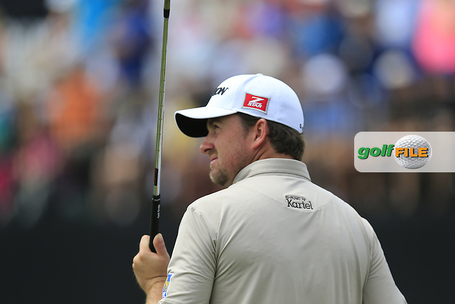 Graeme McDowell (NIR) on the practice range during Wednesday's Practice Day of the 2013 Bridgestone Invitational WGC tournament held at the Firestone Country Club, Akron, Ohio. 31st July 2013.<br /> Picture: Eoin Clarke www.golffile.ie