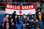 A Mollie Green banner in the crowd during the The FA Women's Championship match at the Proact Stadium, Chesterfield. Picture date: 12th January 2020. Picture credit should read: James Wilson/Sportimage