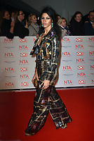 Victoria Nwosu-Hope<br /> Arrivals at the National Television Awards 2018 at The O2 Arena on January 23, 2018 in London, England. <br /> CAP/Phil Loftus<br /> &copy;Phil Loftus/Capital Pictures