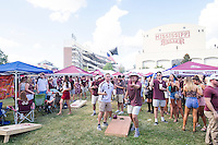 Game Day: MSU Football versus South Carolina.<br /> Tailgaters<br />  (photo by Robert Lewis / &copy; Mississippi State University)