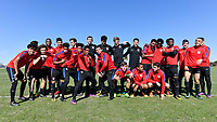 Lakewood Ranch, FL - Sunday Jan. 07, 2018: USMNT U-19 during an U-19 USMNT training session at Premier Sports Campus in Lakewood Ranch, FL.