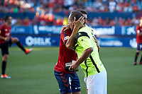 Nino (forward; Elche CF) during the Spanish <br /> la League soccer match between CA Osasuna and Elche CF at Sadar stadium, in Pamplona, Spain, on Saturday, <br /> agost 26, 2018.
