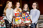 Emma O'Donnell, Monica Brankovic, Julanne Martin and Mary Ann Fleming, Presentation students working hard behind the scene at the St Johns Bazaar in the KDYS on Friday night.