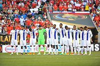 Philadelphia, PA - Tuesday June 14, 2016: Panamanean players prior to a Copa America Centenario Group D match between Chile (CHI) and Panama (PAN) at Lincoln Financial Field.