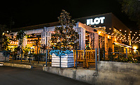 March 12, 2019. La Jolla, CA. USA|  The Lot located in La Jolla is a Cinema, restaurant, bar and Cafe. | Photos by Jamie Scott Lytle. Copyright.