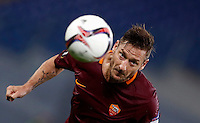 Calcio, Europa League, Gguppo E: Roma vs Austria Vienna. Roma, stadio Olimpico, 20 ottobre 2016.<br /> Roma's Francesco Totti in actionl during the Europa League Group E soccer match between Roma and Austria Wien, at Rome's Olympic stadium, 20 October 2016. The game ended 3-3.<br /> UPDATE IMAGES PRESS/Isabella Bonotto