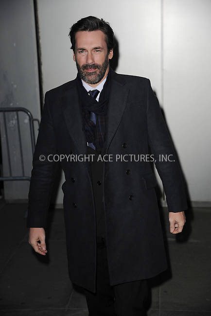 WWW.ACEPIXS.COM<br /> March 22, 2015 New York City<br /> <br /> Jon Hamm attending the 'Mad Men' New York Special Screening at The Museum of Modern Art on March 22, 2015 in New York City.<br /> <br /> Please byline: Kristin Callahan/AcePictures<br /> <br /> ACEPIXS.COM<br /> <br /> Tel: (646) 769 0430<br /> e-mail: info@acepixs.com<br /> web: http://www.acepixs.com