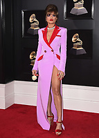 NEW YORK - JANUARY 28:  Andra Day at the 60th Annual Grammy Awards at Madison Square Garden on January 28, 2018 in New York City. (Photo by Scott Kirkland/PictureGroup)