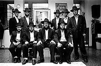 Milano: comunita' LUBAVITCH,  studenti di YESHIVA' (scuola talmudica). Milan: LUBAVITCH community,  YESHIVA' students (talmudic school)
