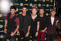 Auryn poses during Neox Fan Awards ceremony photocall in Madrid, Spain. October 08, 2014. (ALTERPHOTOS/Victor Blanco)