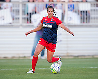 Boyds, MD - April 16, 2016: Washington Spirit player Katie Stengel  (12). The Washington Spirit defeated the Boston Breakers 1-0 during their National Women's Soccer League (NWSL) match at the Maryland SoccerPlex.