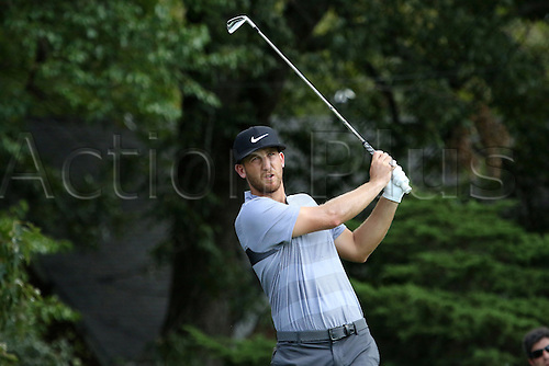 23.09.2016. Atlanta, Georgia, USA.   Kevin Chappell during the second round of the 2016 PGA Tour Championship at East Lake Golf Club in Atlanta, Georgia.