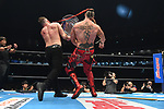 Lance Archer vs Jon Moxley during the IWGP US Heavyweight Championship Match/Texas Death Match New Japan Pro-Wrestling Wrestle Kingdom 14 at Tokyo Dome on January 4, 2020 in Tokyo, Japan. (Photo by New Japan Pro-Wrestling/AFLO)