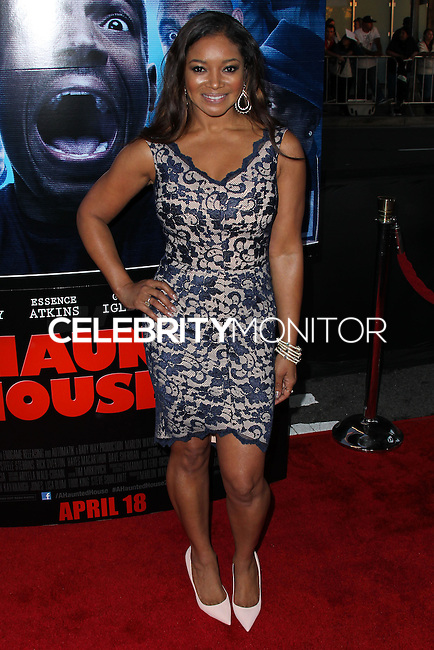 """LOS ANGELES, CA, USA - APRIL 16: Tamala Jones at the Los Angeles Premiere Of Open Road Films' """"A Haunted House 2"""" held at Regal Cinemas L.A. Live on April 16, 2014 in Los Angeles, California, United States. (Photo by Xavier Collin/Celebrity Monitor)"""
