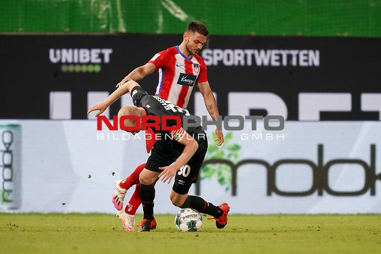 Davy Klaassen (Werder Bremen #30)<br /> <br /> <br /> Sport: nphgm001: Fussball: 1. Bundesliga: Saison 19/20: Relegation 02; 1.FC Heidenheim vs SV Werder Bremen - 06.07.2020<br /> <br /> Foto: gumzmedia/nordphoto/POOL <br /> <br /> DFL regulations prohibit any use of photographs as image sequences and/or quasi-video.<br /> EDITORIAL USE ONLY<br /> National and international News-Agencies OUT.