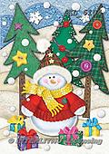 Interlitho-Dani, CHRISTMAS SANTA, SNOWMAN, WEIHNACHTSMÄNNER, SCHNEEMÄNNER, PAPÁ NOEL, MUÑECOS DE NIEVE, paintings+++++,snowman,KL6104,#x#