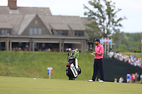 Thomas Aiken (RSA) on the 10th hole during Saturday's Round 3 of the 117th U.S. Open Championship 2017 held at Erin Hills, Erin, Wisconsin, USA. 17th June 2017.<br /> Picture: Eoin Clarke | Golffile<br /> <br /> <br /> All photos usage must carry mandatory copyright credit (&copy; Golffile | Eoin Clarke)