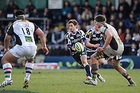 20130317 Copyright onEdition 2013©.Free for editorial use image, please credit: onEdition..Danny Cipriani of Sale Sharks passes during the LV= Cup Final between Harlequins and Sale Sharks at Sixways Stadium on Sunday 17th March 2013 (Photo by Rob Munro)..For press contacts contact: Sam Feasey at brandRapport on M: +44 (0)7717 757114 E: SFeasey@brand-rapport.com..If you require a higher resolution image or you have any other onEdition photographic enquiries, please contact onEdition on 0845 900 2 900 or email info@onEdition.com.This image is copyright onEdition 2013©..This image has been supplied by onEdition and must be credited onEdition. The author is asserting his full Moral rights in relation to the publication of this image. Rights for onward transmission of any image or file is not granted or implied. Changing or deleting Copyright information is illegal as specified in the Copyright, Design and Patents Act 1988. If you are in any way unsure of your right to publish this image please contact onEdition on 0845 900 2 900 or email info@onEdition.com