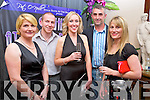 "Pictured at ""A Night at the Opera' in the Brehon Hotel, Killarney on Wednesday with proceeds to Cystic Fibrosis Build 4 Life were Anne Holland, Pa Murphy, Dawn McCarthy, Louis Holland and Evelyn Spillane Murphy.."