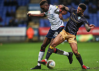 Bolton Wanderers' Sammy Ameobi competing with Sheffield Wednesday's Liam Palmer <br /> <br /> Photographer Andrew Kearns/CameraSport<br /> <br /> The EFL Sky Bet Championship - Bolton Wanderers v Sheffield Wednesday - Tuesday 12th March 2019 - University of Bolton Stadium - Bolton<br /> <br /> World Copyright © 2019 CameraSport. All rights reserved. 43 Linden Ave. Countesthorpe. Leicester. England. LE8 5PG - Tel: +44 (0) 116 277 4147 - admin@camerasport.com - www.camerasport.com