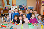 School bell<br /> ---------------<br /> Starting out on their first day at school at Castlegregory NS last Wednesday