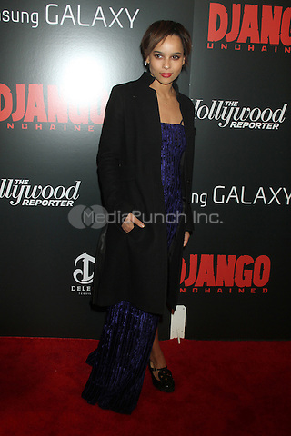 NEW YORK, NY - DECEMBER 11: Zoe Kravitz at the Screening Of 'Django Unchained' at  the Ziegfeld Theater on December 11, 2012 in New York City.Credit: RW/MediaPunch Inc.