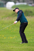 Harry Gillivan (Westport) on the 1st during Round 1 of The East of Ireland Amateur Open Championship in Co. Louth Golf Club, Baltray on Saturday 1st June 2019.<br /> <br /> Picture:  Thos Caffrey / www.golffile.ie<br /> <br /> All photos usage must carry mandatory copyright credit (© Golffile | Thos Caffrey)