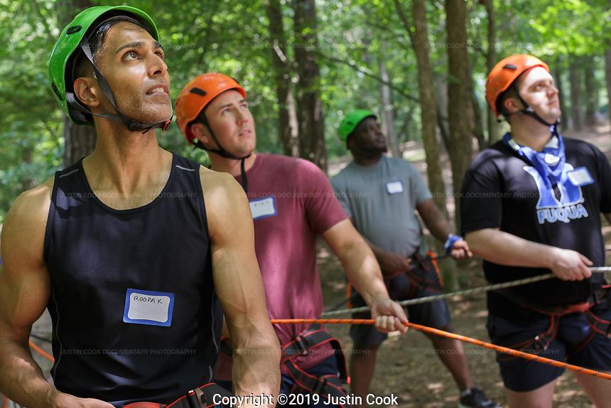 Duke University's Fuqua School of Business in Durham, North Carolina, Thursday, August 1, 2019  (Justin Cook)