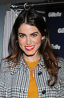 NEW YORK, NY - JANUARY 16: Nikki Reed & Gillette ask New York couples to 'Kiss & Tell' in a live national experiment on January 16, 2013 in New York City. © Diego Corredor/MediaPunch inc.