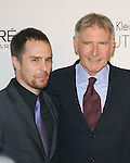 Harrison Ford and Sam Rockwell walks the carpet as Elle Honors Hollywood's Most Esteemed Women in the 17th Annual Women in Hollywood Tribute held at The Four Seasons Beverly Hills in Beverly Hills, California on October 18,2010                                                                               © 2010 VanStory/Hollywood Press Agency