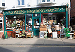 Trading Post antique shop in Leiston, Suffolk, England