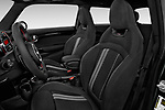 Front seat view of 2019 MINI Cooper John-Cooper-Works-Hardtop Door Hatchback Front Seat  car photos