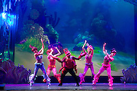 SAO PAULO, SP, 16.07.2013 - DISNEY LIVE - Apresenta&ccedil;&atilde;o do Disney Live Festival Musical do Mickey. Os sucessos da Disney s&atilde;o mixados com os rotimos mais animados da atualidade como rock, pop, reggae, jazz, country e muito mais.<br /> O elenco inclui mais de 25 personagens da Disney. <br />  no Teatro Bradesco a temporada acontece de 17 de julho a 04 de agosto, em S&atilde;o Paulo, nesta ter&ccedil;a-feira, 16. (Foto: Flavio Hopp / Brazil Photo Press).