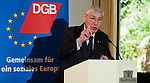 130424: 'A Marshall Plan for Europe' - a presentation by Michael SOMMER (DGB)