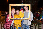 The Sheehan Family Abbeyfeale  L-R Helen , Danni, Kyle & Maurice at the switching on of the Christmas lights last Friday Night in Abbeyfeale.