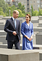 Prince William and Princess Kate at the Holocaust Memorial