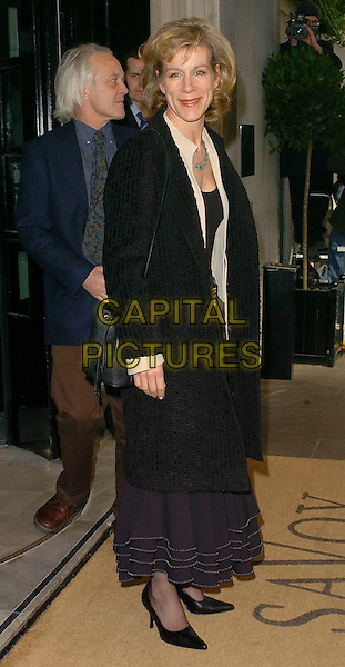 JULIET STEVENSON.The South Bank Show Awards,.London, England, 27th January 2006..full length black coat.Ref: CAN.www.capitalpictures.com.sales@capitalpictures.com.©Capital Pictures