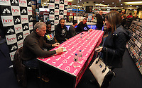 Pictured L-R: Alan Curtis, Nathan Dyer, Ashley Williams, Leon Britton and Lee Trundle Wednesday 14 January 2015<br />