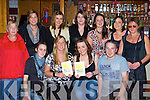 Katy Hayes and Triona O'Keeffe Killarney held a race night in aid of Orphans in Lesoto in Mustang Sally's Killarney on Friday night front row l-r: Carrie Flynn, Katy Hayes, Triona O'Keeffe, Dylan Hayes. Back row: Margaret Synon, Marcella Cronin, Ann Marie Ring, Grace Spillane, Helen Simpson, Verina Murphy and Nora Hayes   Copyright Kerry's Eye 2008