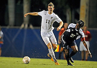 Florida International University men's soccer player Sebastian Frings (11) plays against Florida Atlantic University on August 28, 2011 at Miami, Florida.  The game ended in a 1-1 overtime tie. .