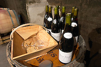 bottles for tasting domaine huguenot p & f marsannay cote de nuits burgundy france