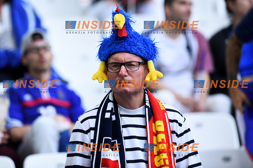 Tifoso Francia Supporters France <br /> Marseille 15-06-2016 Stade du Velodrome <br /> Football Euro2016 France - Albania / Francia - Albania Group Stage Group A<br /> Foto Massimo Insabato / Insidefoto