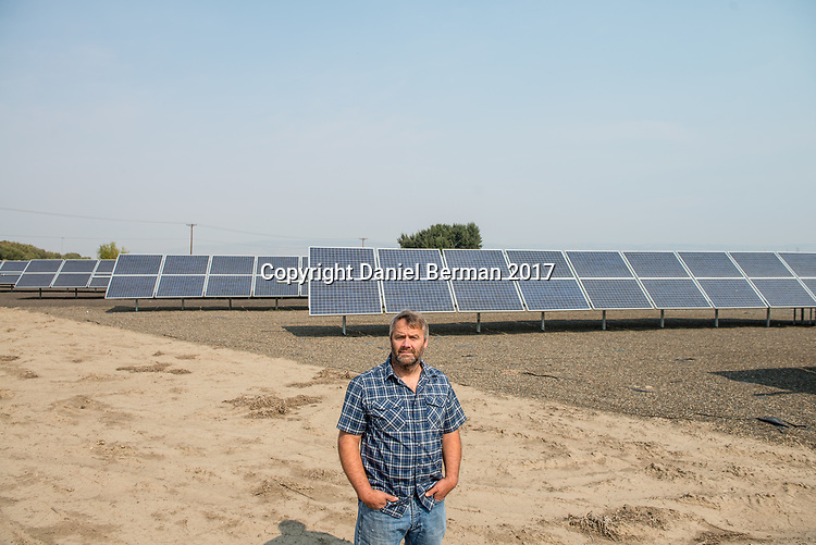 Ellensburg Mayor Rich Elliott has helped attract investment in solar power energy to the city.