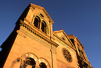 SAINT FRANCIS CATHEDRAL is in the heart of downtown SANTA FE two blocks off of the main plaza - NEW MEXICO