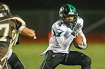 Torrance, CA 11/22/13 - Demarlo Richard (Palmdale #4) in action during the Palmdale-West Torrance CIF Northern Division quarterfinal game.  West Torrance defeated Palmdale 17-14.