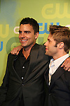 All My Children's Colin Egglesfield & Shaun Sipos - Melrose Place - at the CW Upfront 2009 on May 21, 2009 at Madison Square Gardens, New York NY. (Photo by Sue Coflin/Max Photos)
