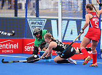 Hope Ralph during the Pro League Hockey match between the Blacksticks women and the USA, Nga Punawai, Christchurch, New Zealand, Sunday 16 February 2020. Photo: Simon Watts/www.bwmedia.co.nz