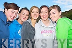 All smiles at the Glenflesk fun day on Sunday were Emma Looney, Ulick O'Sullivan, Megan Doherty, Denise Murphy and Bridie Kissane.   Copyright Kerry's Eye 2008