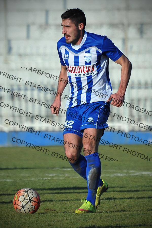 Fudbal Jelen Super League season 2016-2017<br /> Novi Pazar v Spartak<br /> Nikola Dimitrijevic<br /> Novi Pazar, 4. 12. 2016<br /> foto: Emir Sadovic/Starsportphoto &copy;
